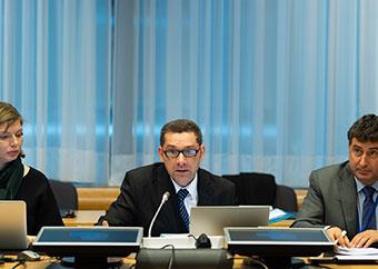 Prof. Everaldo Attard at CCSCH4 meeting