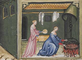 Painting - Mediterranean Cuisine
