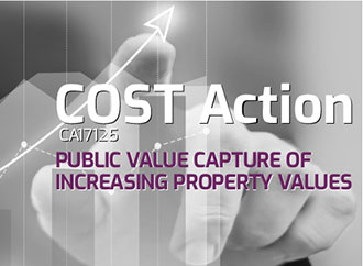 COST ACTION CA17125: Public Value Capture: Who should benefit from increasing property values?