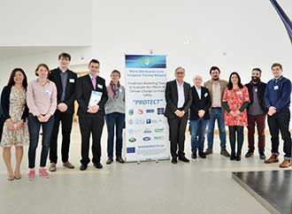 Group photo - PROTECT kick-off meeting