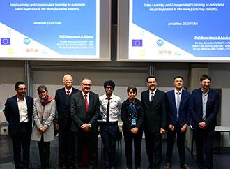 Group photo - UTC Ph.D. viva with Prof. Ing. Jonathan Borg