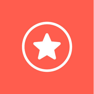 star in circle