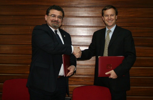 The University of Malta and the U.S. Embassy Sign Ambassador's Scholar Agreement