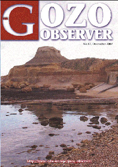 Cover of the Gozo Observer 17