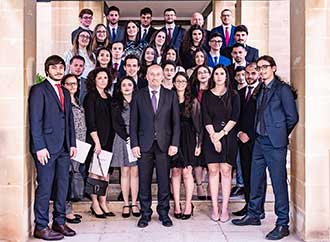 Group photo: Science Dean's Award