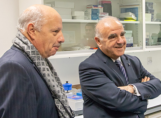 President of Malta at UM's Research Facilities