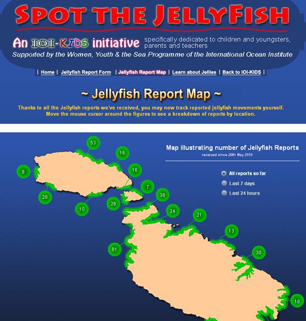 Spot the Jellyfish 2011