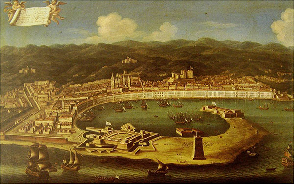The fortified port of Messina in the Baroque Age