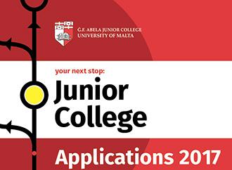 Junior College applications 2017