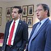 Mr Carlos Maza together with Prof. Stephen Calleya