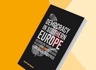 Book cover - Democracy in Southern Europe