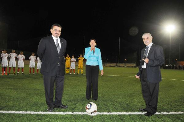 Inauguration of Junior College Sports Ground