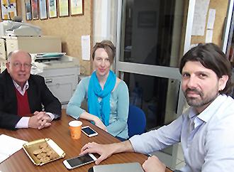 Lino Briguglio, Hilary Bambrick, Stefano Moncada