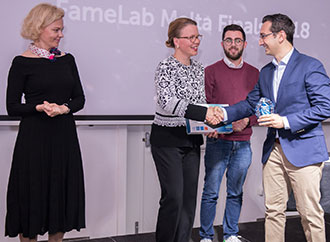 Famelab winner - Dr Anthony Galea