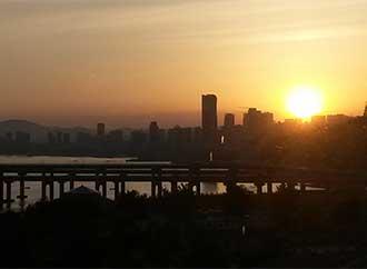 Dalian sunset