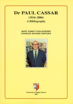 Book - Paul Cassar