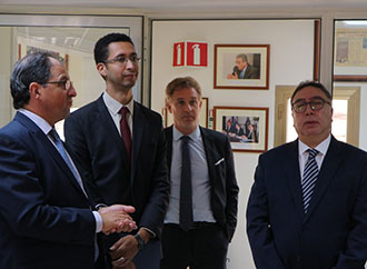 Visit to MEDAC by H.E. Ambassador of Tunisia and Mr Mohamed Wael