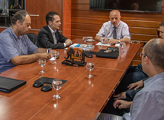 Meeting between Chamber of Engineers and UM