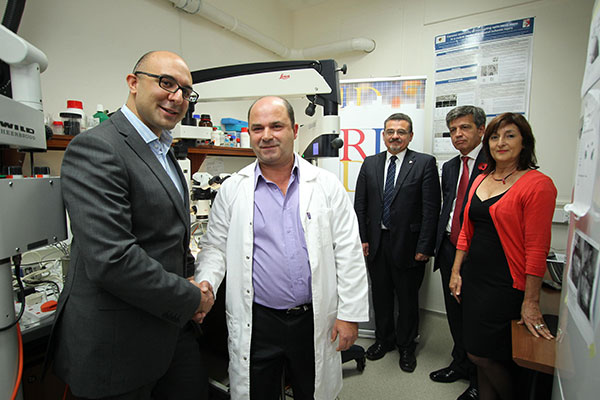 Evolve Ltd makes advanced equipment donation to University of Malta