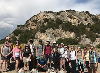Students at Maremma