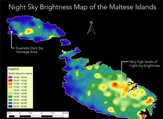 Light Pollution Study Department of Physics University of Malta