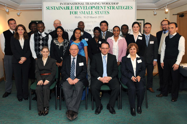 Sustainable Development for Small States '09