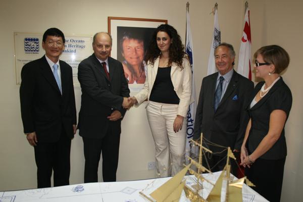 Award of the IOI Elisabeth Mann Borgese Bursary, 2010