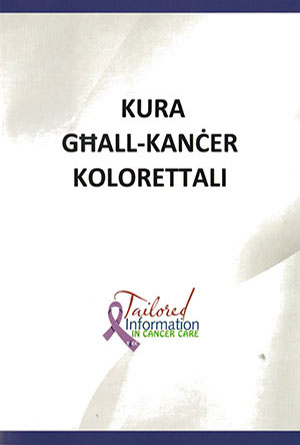 Translation into Maltese booklets on cancer care
