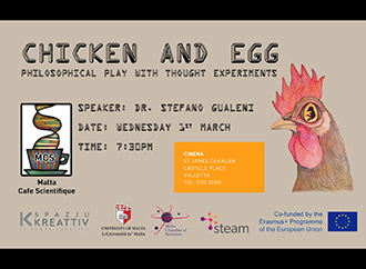 Poster - Chicken and Egg event