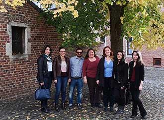 Group photo - Trainmalta in Leuven