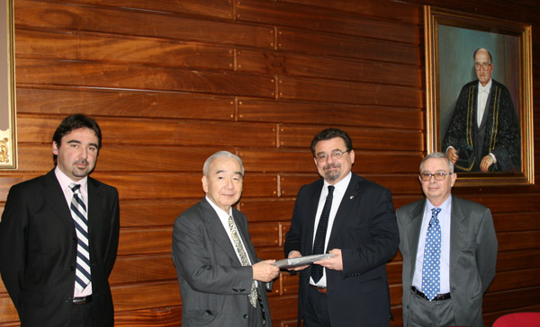 Strengthening Cooperation between UoM and AIU