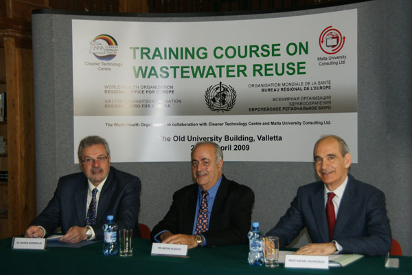 Regional Training Course in Water Reclamation and Reuse in the Mediterranean