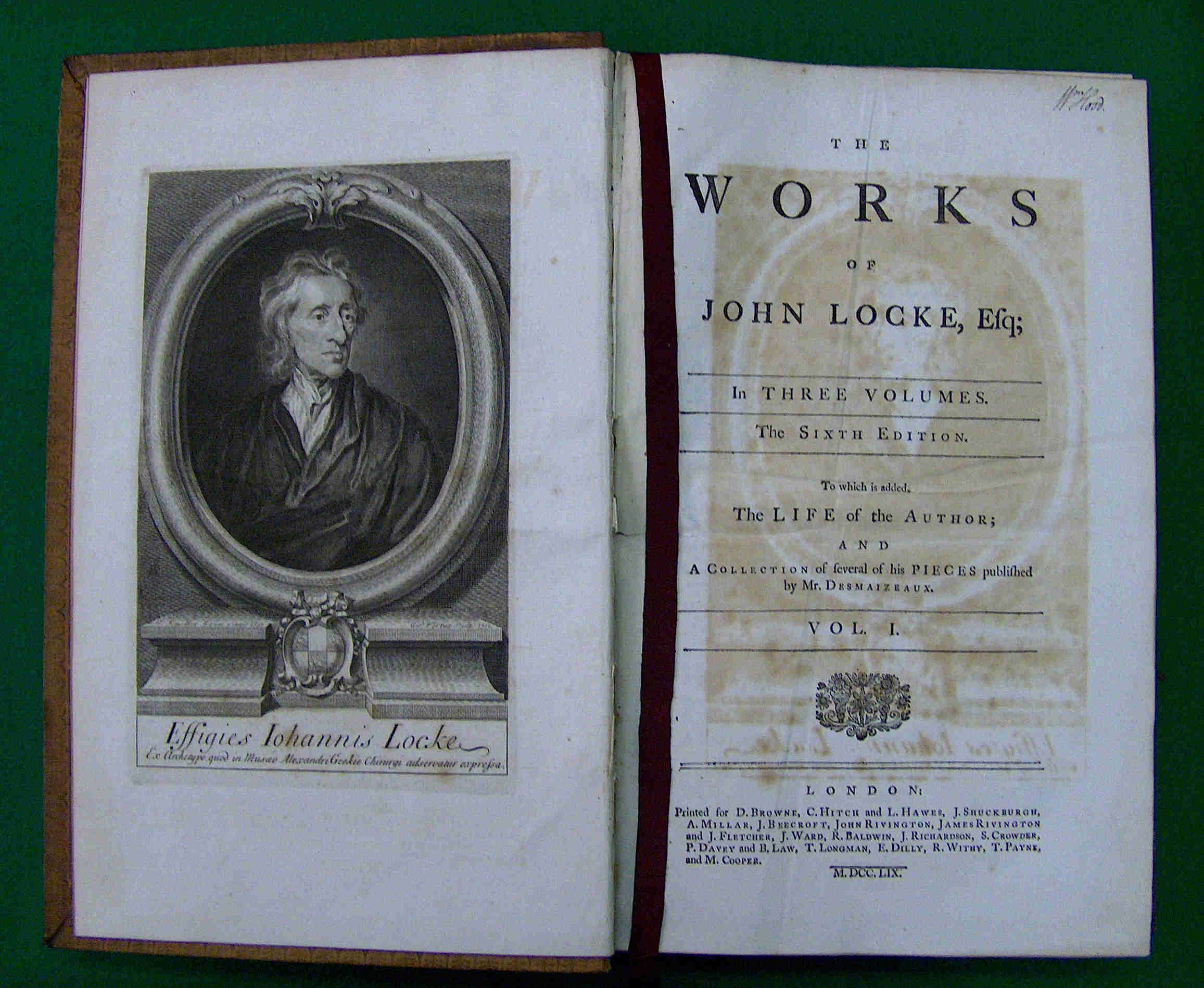 rene descartes and john locke essays
