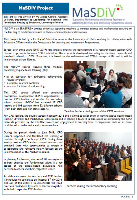 Published Articles | MaSDiV Project